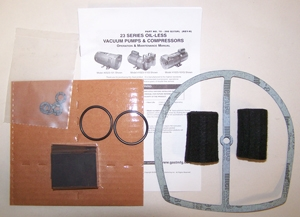 K479 Vane Kit For Gast 1023 Rotary Vane Air Compresssor
